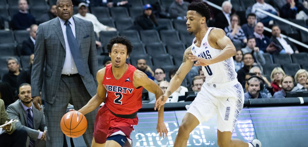 Georgetown's Second Half Surge Leads Hoyas Past Liberty