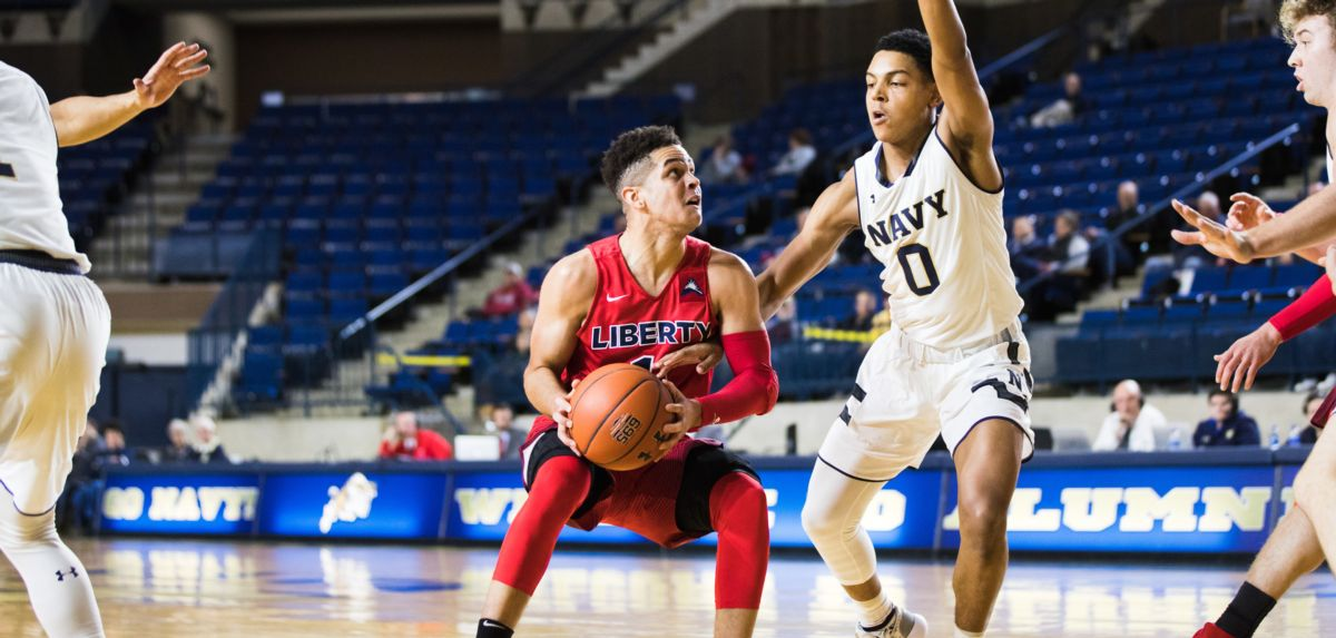 Liberty's Bench Sparks Win at Navy