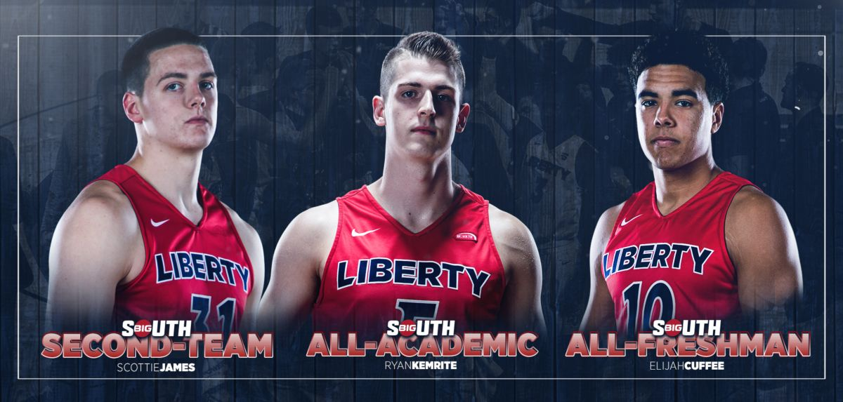 Cuffee, James and Kemrite Earn All-Big South Honors