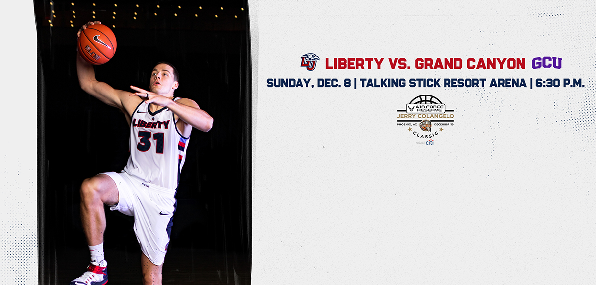 Liberty faces GCU in the Jerry Colangelo Classic.