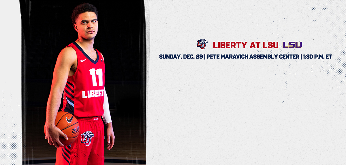 Liberty faces LSU on Dec. 29th.