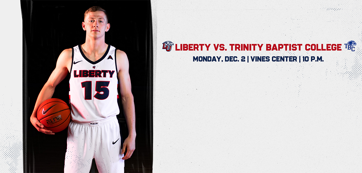 Liberty Faces Trinity Baptist College