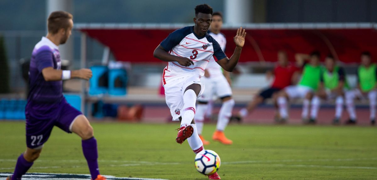 Men's Soccer Adds Match at American