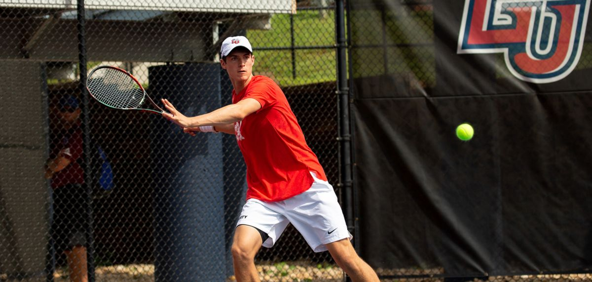 Wilson won in doubles and singles on Friday afternoon.