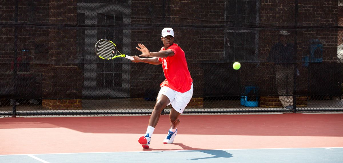 Muamba won in both singles and doubles on Friday at Miami.
