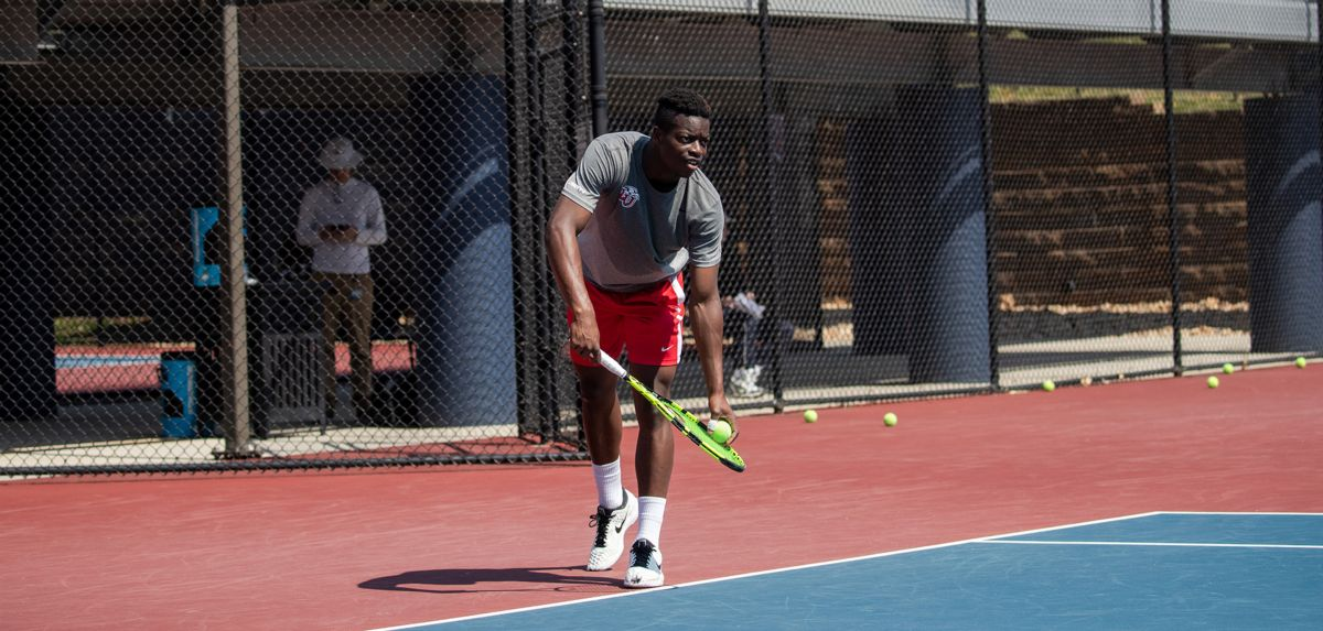 Muamba was selected to compete in the 2019 NCAA Division I Men's Tennis Championships, starting May 20.