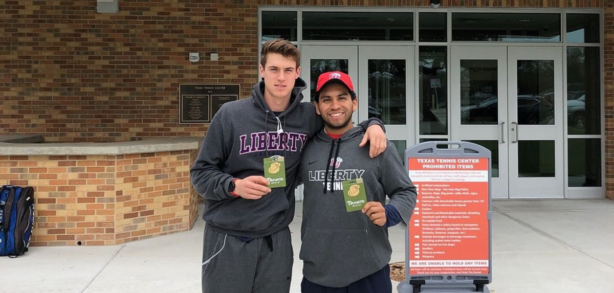 Wilson (left) and Gutierrez (right) are No. 53 in the nation among doubles teams.