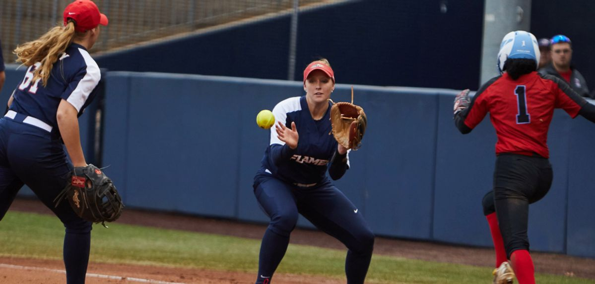 Amber Bishop had a hit against San Diego State on Thursday.