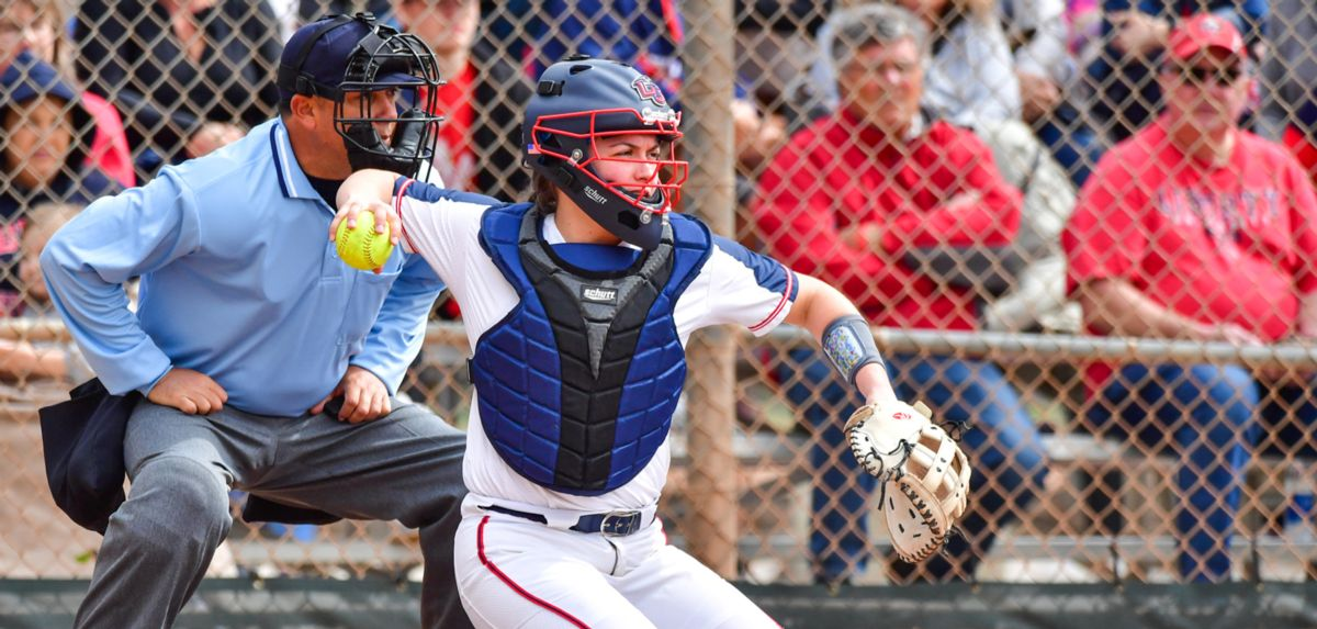 Caroline Hudson recorded a hit in her first career game, Friday against Kentucky.