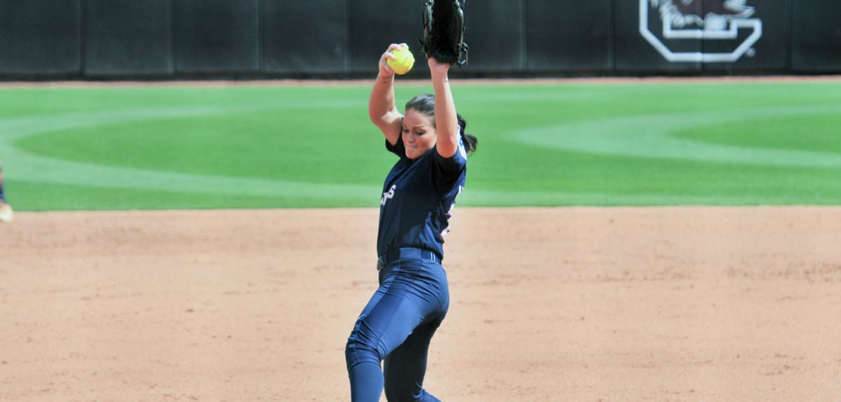 Julia DiMartino was named ECAC Softball Pitcher of the Year.