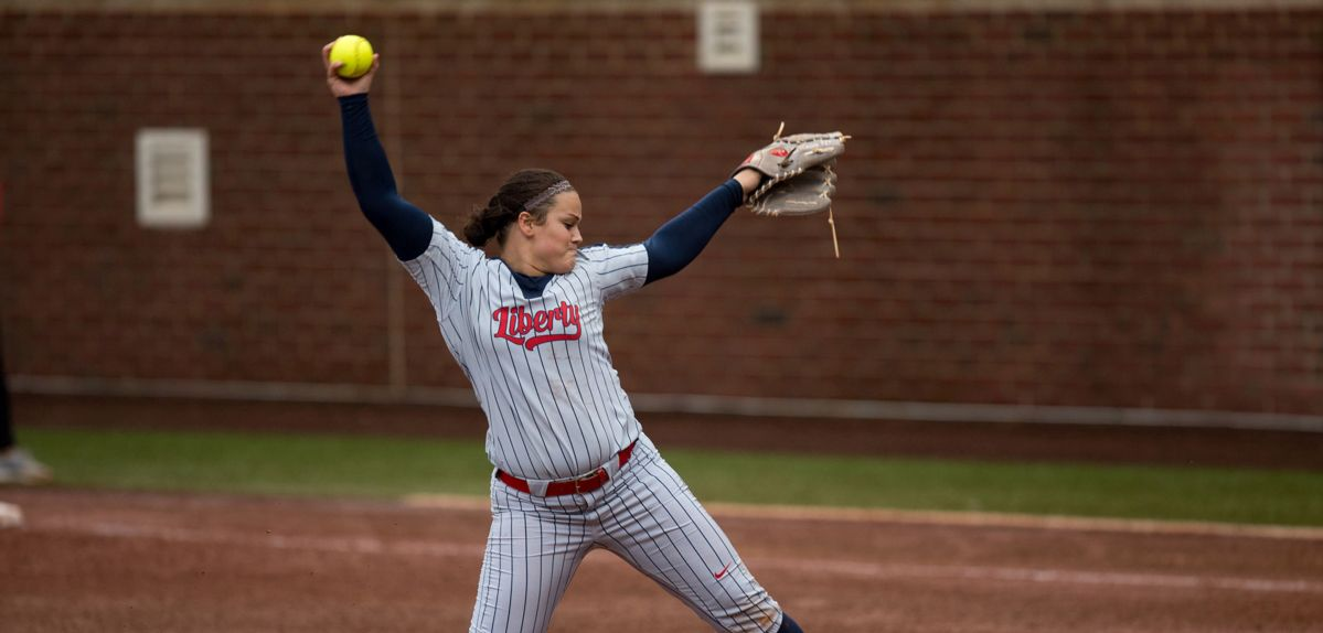 Julia DiMartino earned her fifth career Big South Pitcher of the Week honor.
