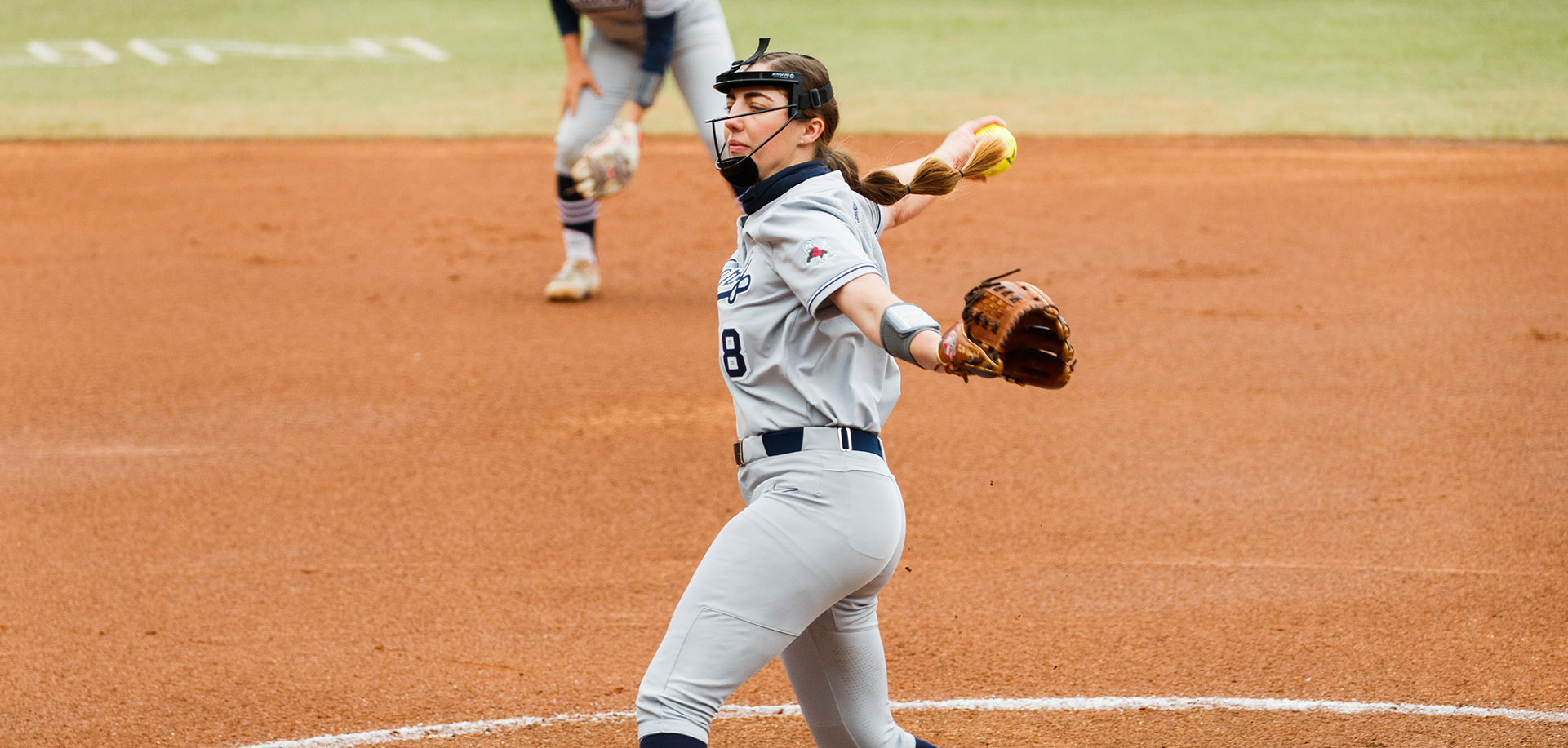 Karlie Keeney was named ASUN Softball Pitcher of the Week.
