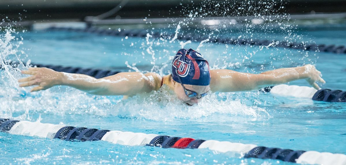 Finnigan Earns 5th-Place Finish at USA Swimming Winter Nationals