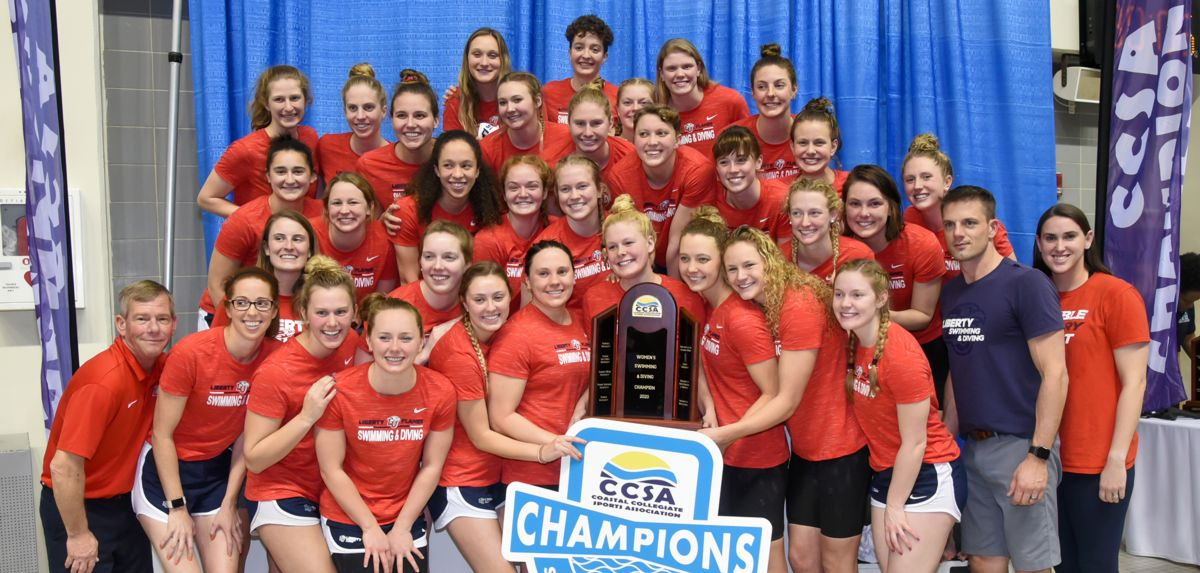 Liberty claimed its third CCSA title and second in a row.