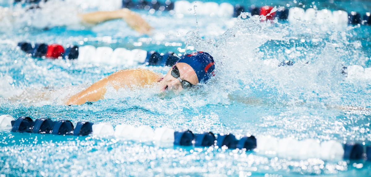 Colleen Donlin won two events on Friday at Penn State