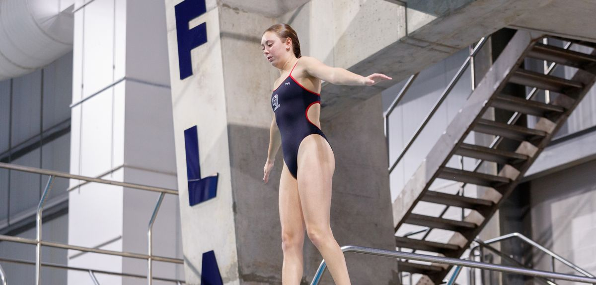 Kendal Irwin finished fifth in platform diving on Sunday.