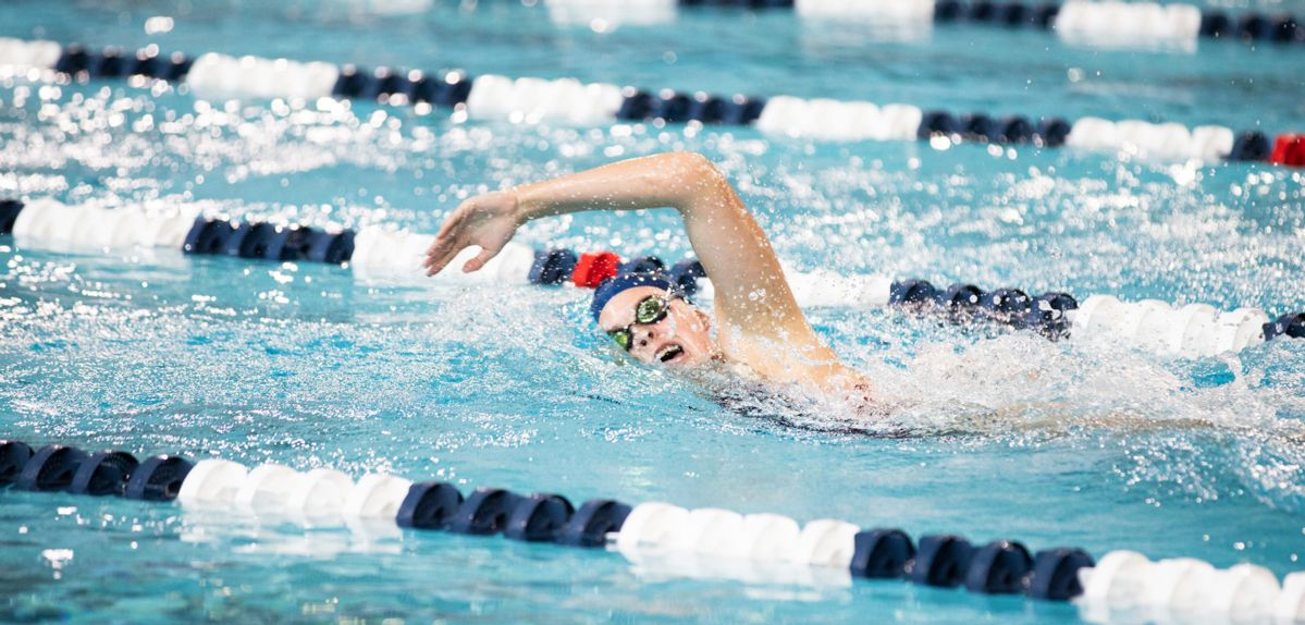 Mikayla Herich won the 1,650 freestyle on Sunday.