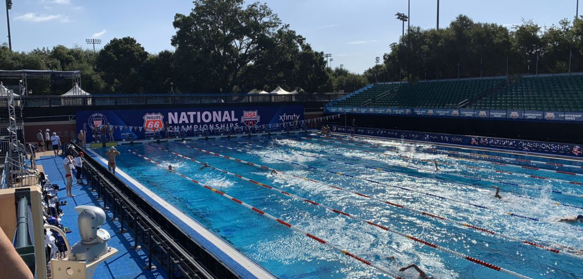 Stanford's Avery Aquatic Center is the site of the 2019 Phillips 66 National Championships.
