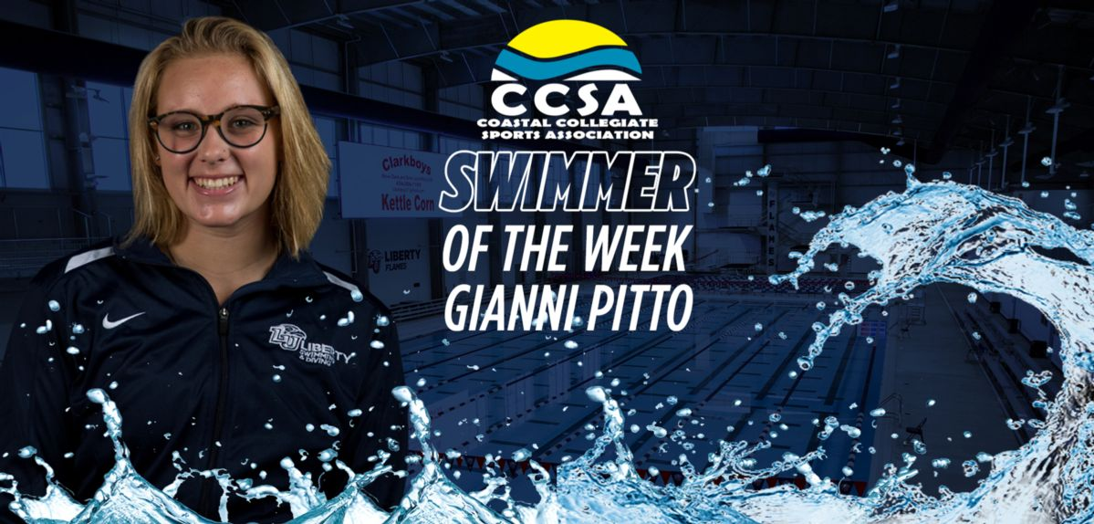 Pitto Named CCSA Women's Swimmer of the Week