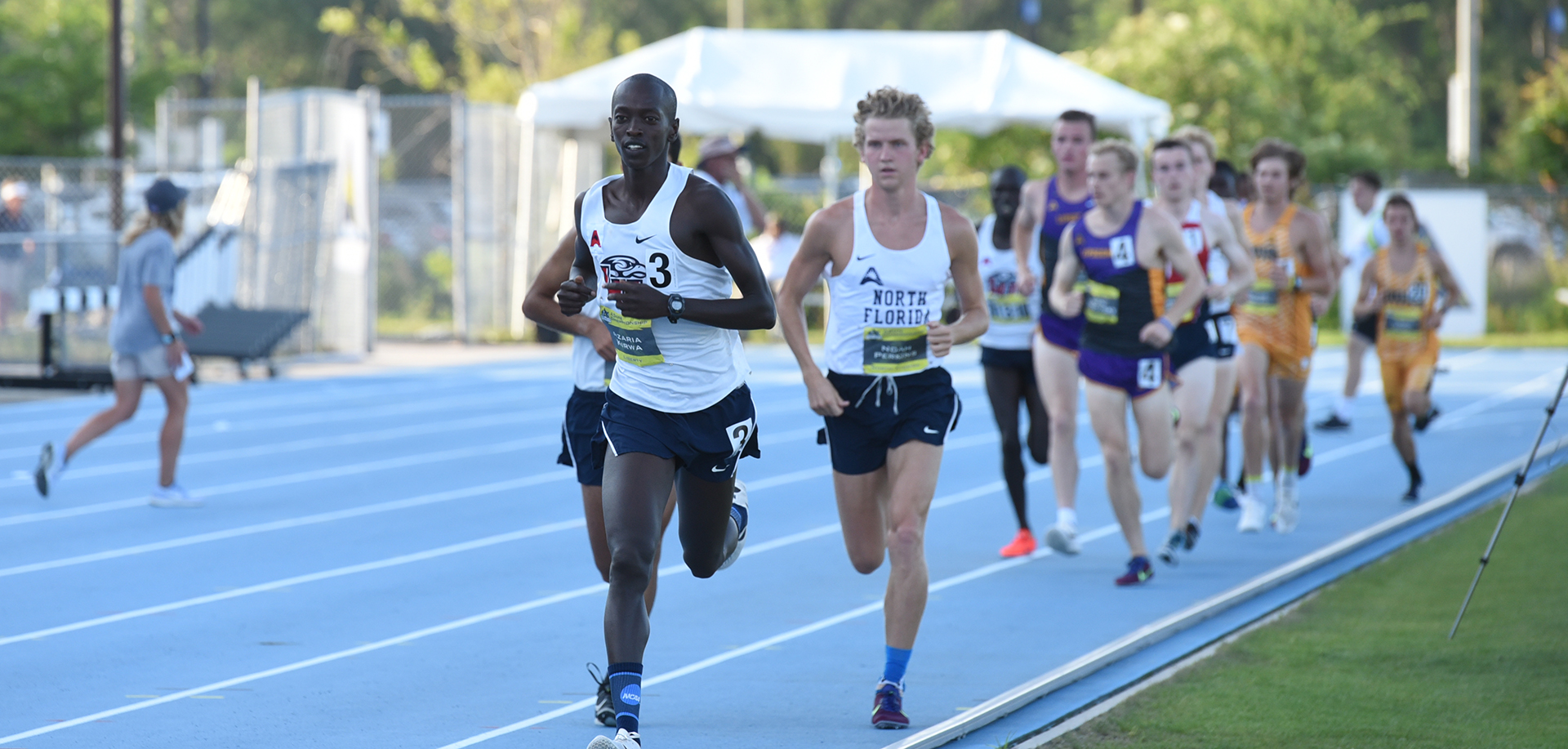 Azaria Kirwa shattered his previous best with his impressive 29:05.57 clocking at the Raleigh Relays on Friday.