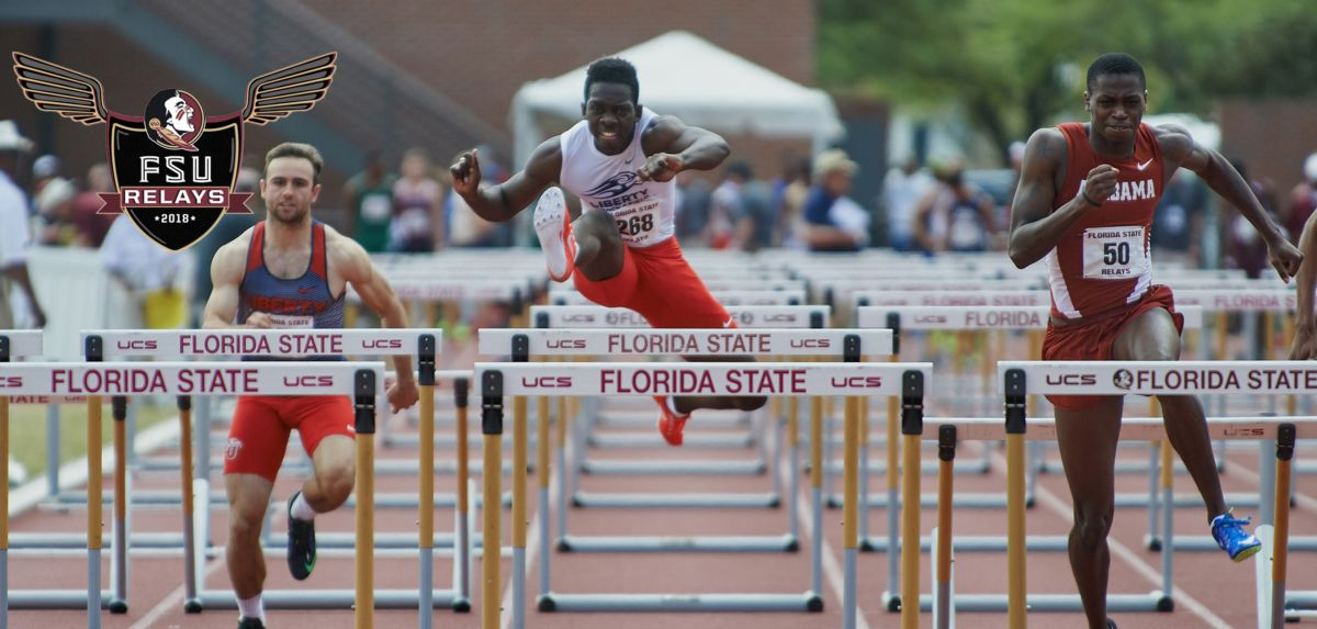 All-American hurdler Jovaine Atkinson will make his 2018 outdoor debut at Friday's FSU Relays. (Photo by Perrone Ford)