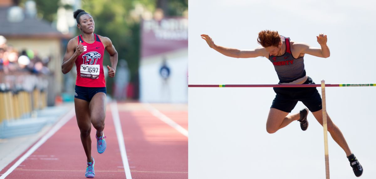 Kimone Green (left)/Carson Waters (right) (Photos by Taylor Jones)