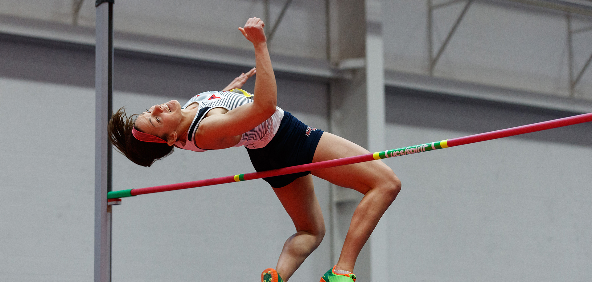 Kylie Polsgrove's successful Friday was headlined by her 5-7.75 high jump clearance.