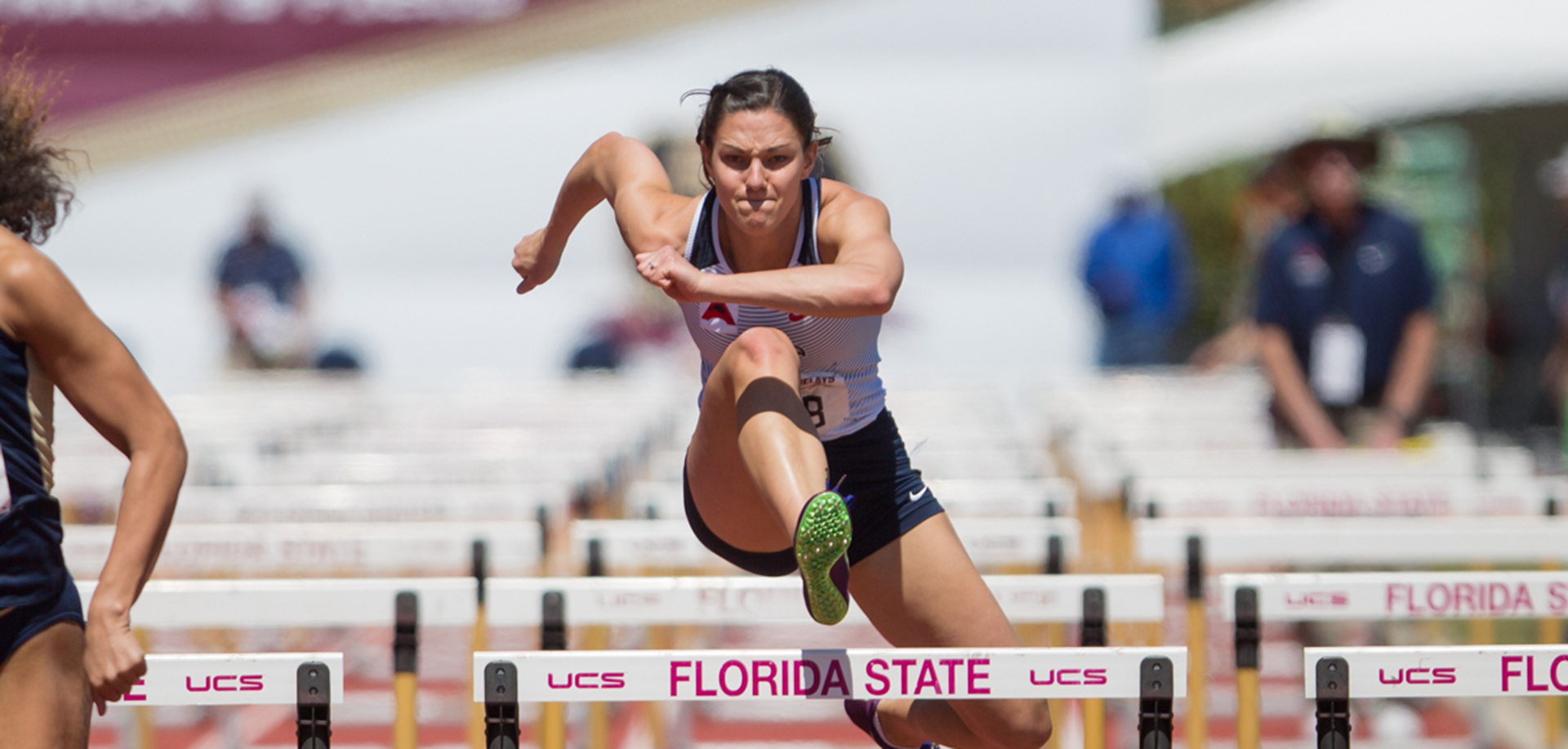 Kylie Polsgrove wrapped up a heptathlon personal-best score of 5,184 points, Saturday at the Virginia Challenge.
