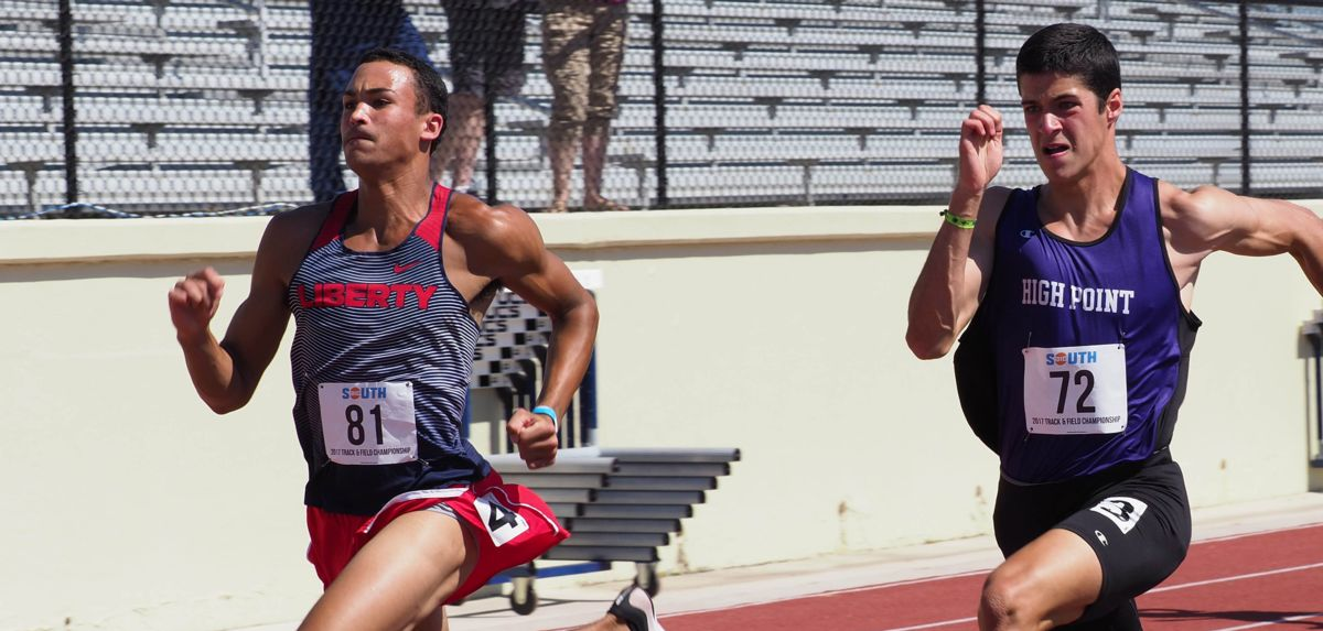 Markus Ballengee will compete in the heptathlon, Friday and Saturday at the Liberty Kickoff.