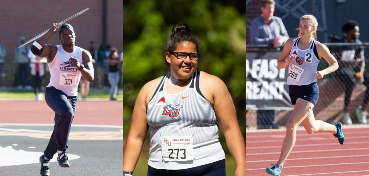 (L-R): Denzel Pratt, Naomi Mojica, Delaney McDowell (Photos by R. Taylor Jones)