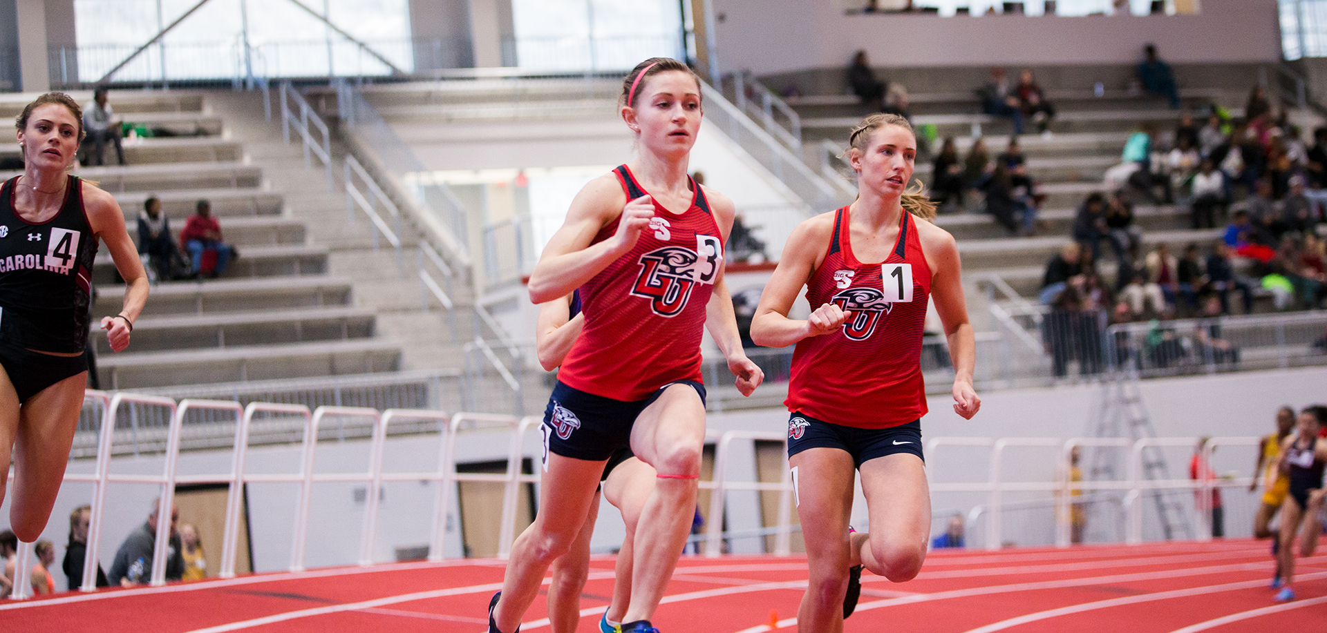Freshman Tanner Ealum will keep busy this weekend at the Penn Relays, between the 4 x 200, 4 x 400 and distance medley relays.