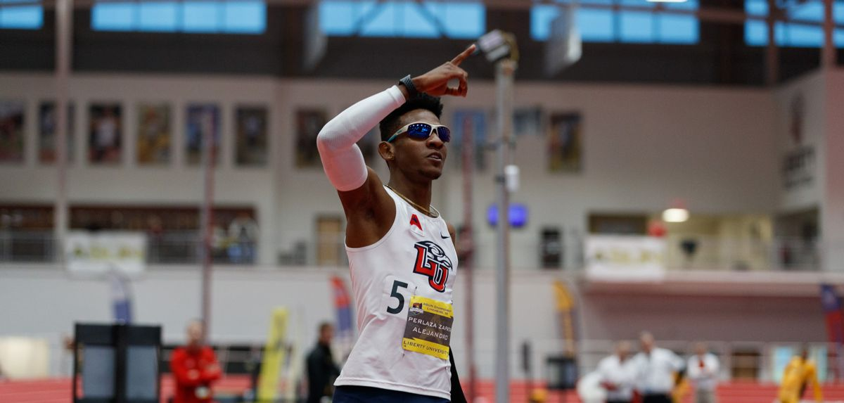 Perlaza Zapata Set for NCAA Indoor Championships