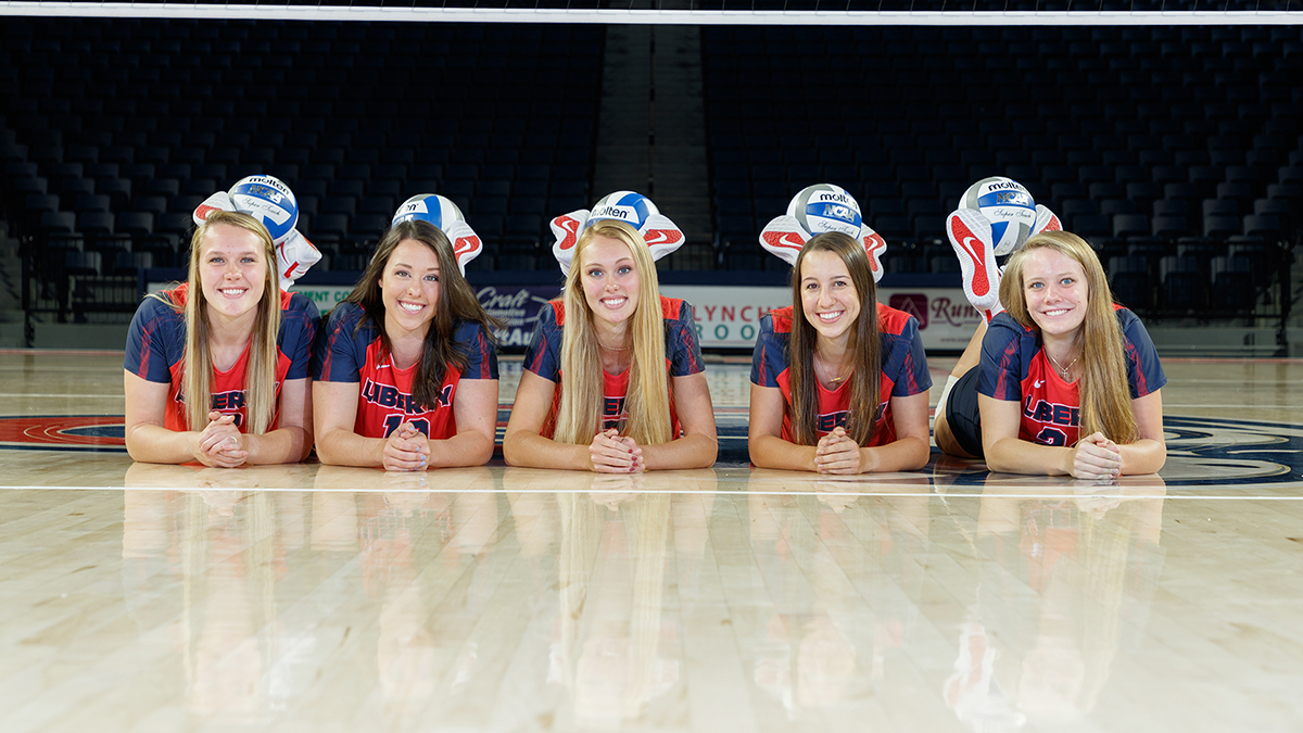 Liberty will honor its seniors with a prematch ceremony on Sunday.
