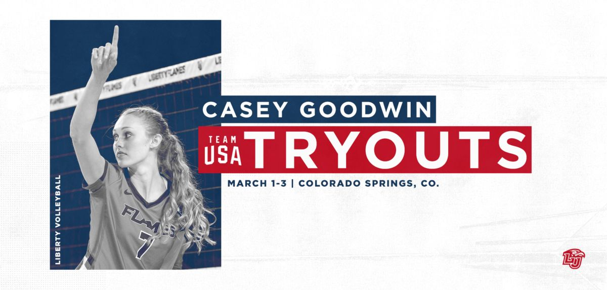 Goodwin Invited to Try Out for Team USA Volleyball