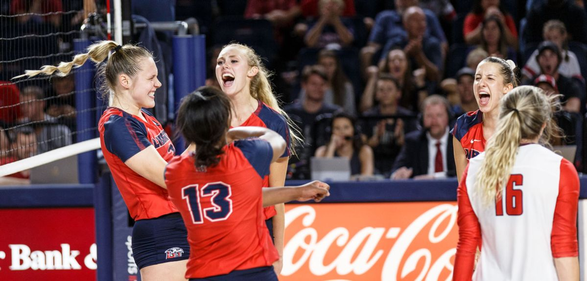 Lady Flames Post 3-0 Sweep at Virginia