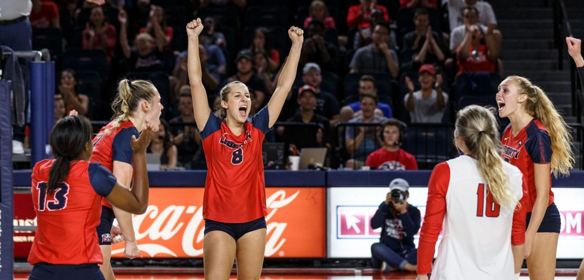 Lady Flames Rally for 3-1 Win Over Hokies