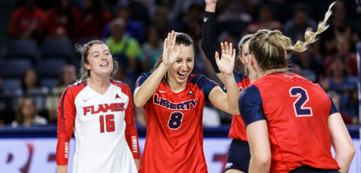 Liberty Volleyball Set to Host FGCU in ASUN Opener, Tuesday