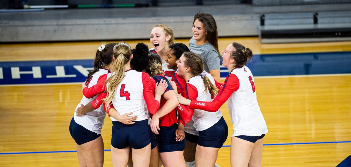 Liberty will make its second straight appearance in the ASUN semifinal round, defeating North Florida 3-1 in tonight's quarterfinal.