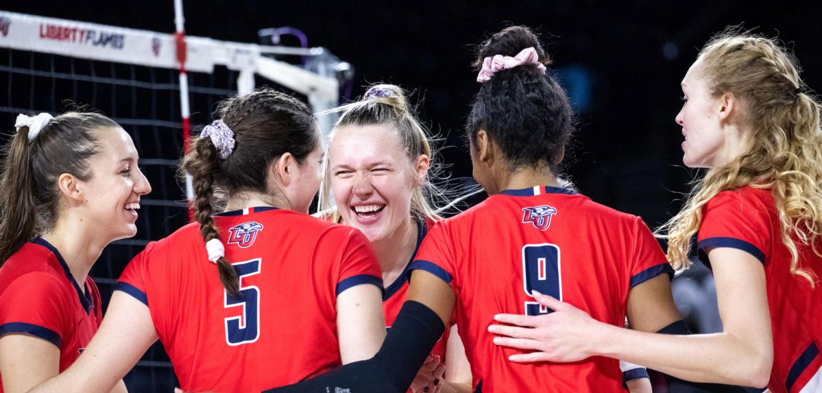 Liberty Volleyball Set for Key Matches at Kennesaw State, Lipscomb