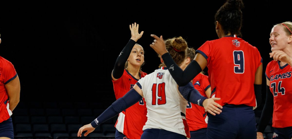 Lady Flames Roll to 3-0 Win at Jacksonville