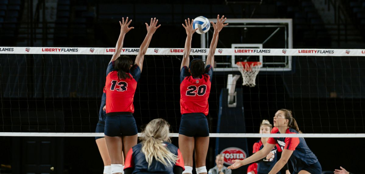 Liberty Volleyball to Host Red-Blue Scrimmage Tomorrow in Vines Center