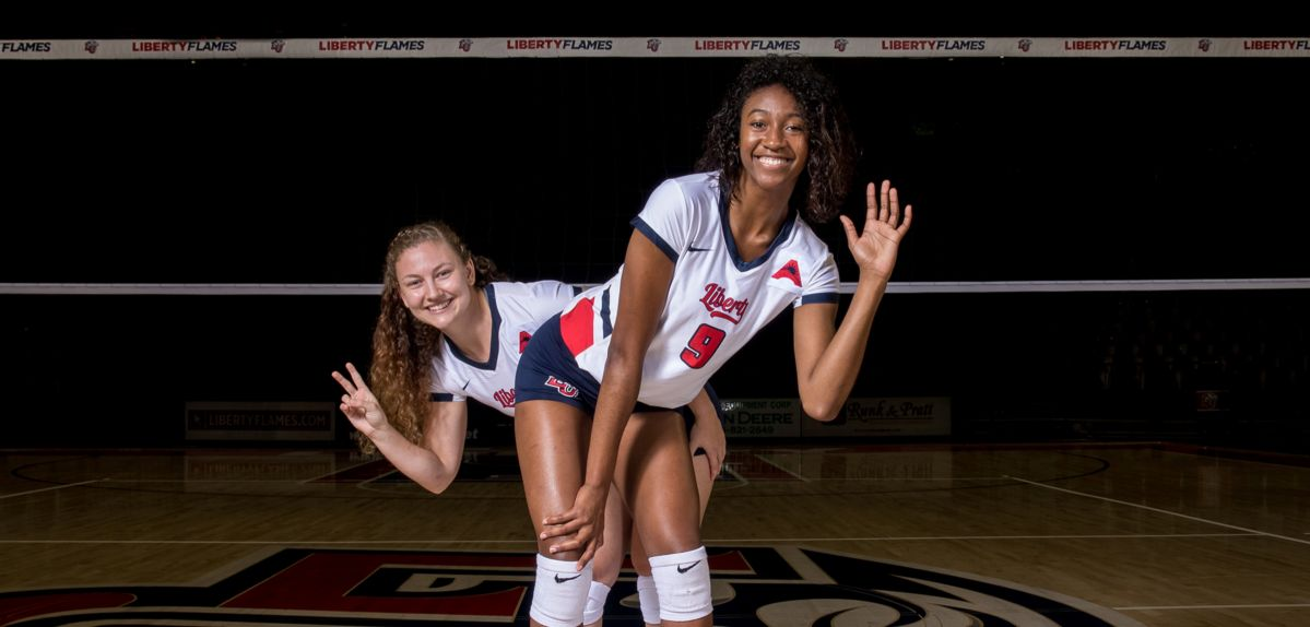 Margaret Latchford and Victoria Baptista will play their final home matches this weekend at the Vines Center.