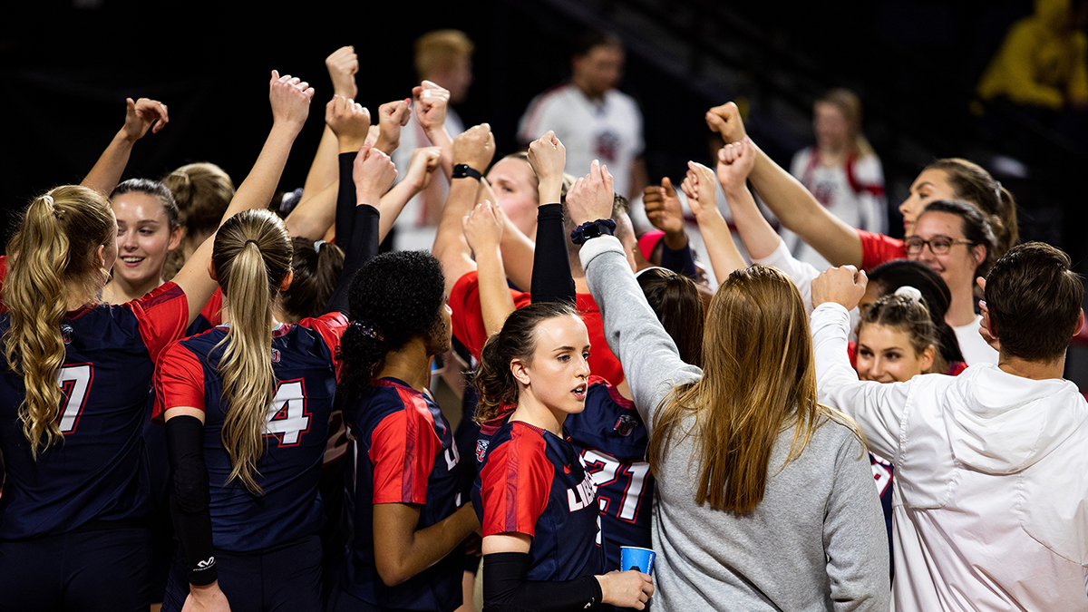The Liberty volleyball team is the third seed for the 2019 ASUN Volleyball Championship.