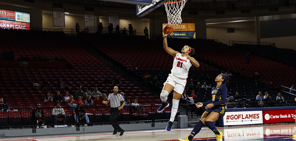 Keyen Green and the Lady Flames will make their final visit to the JMU Convocation Center Sunday at 2 p.m.