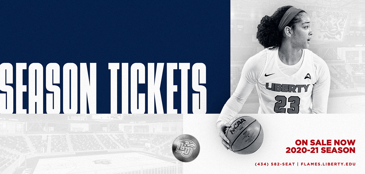 Season tickets are now on sale for the 2020-21 Liberty women's basketball season.