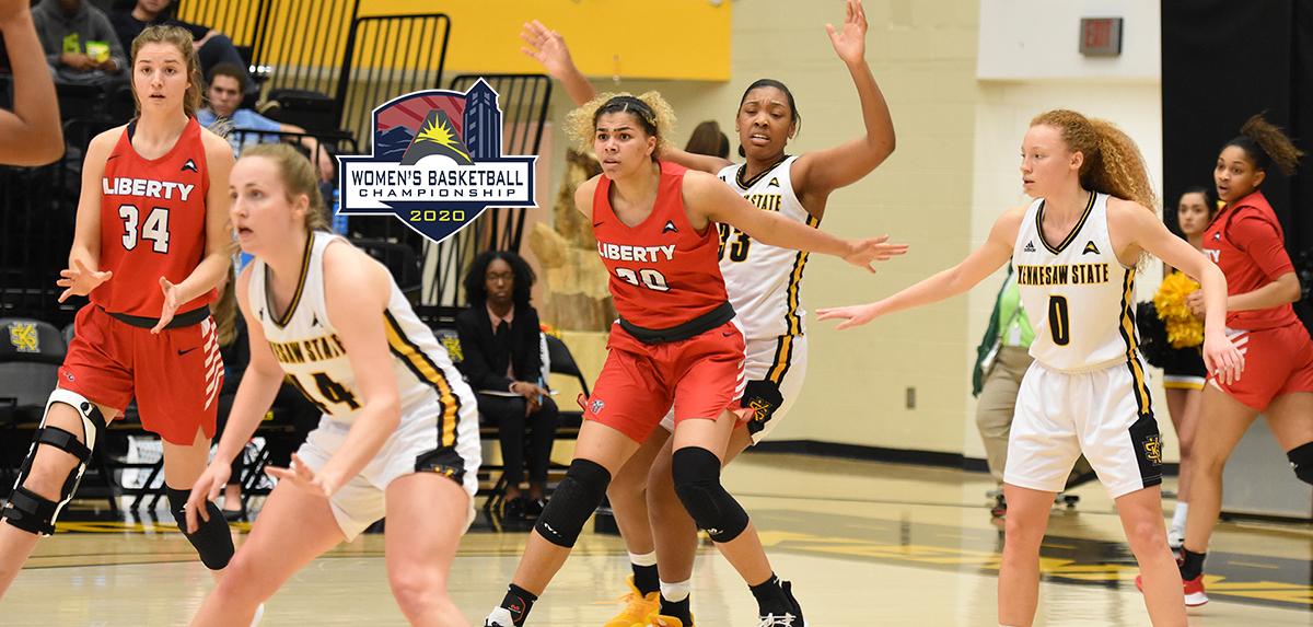 Mya McMillian scored 38 points during Liberty's two regular-season victories over Kennesaw State.