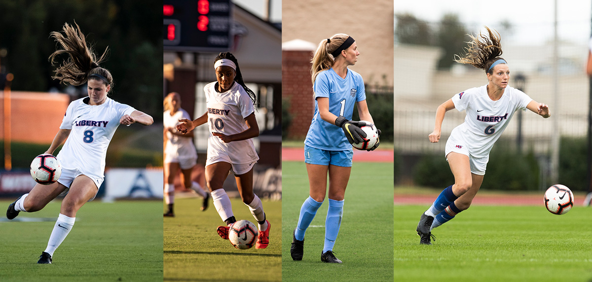 Jayroe Named ASUN Goalkeeper of the Year; Four Flames Earn All-Conference