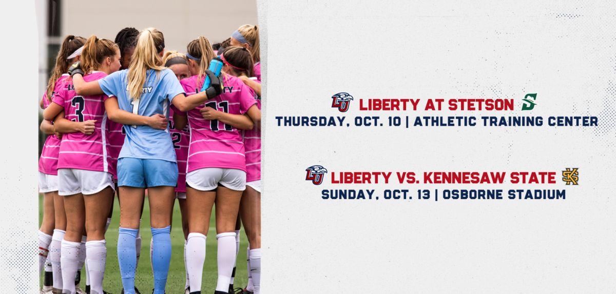 Liberty Starts Week at Stetson Before Returning Home to Face KSU