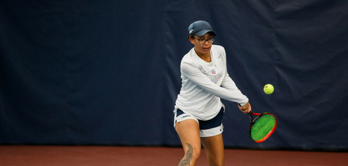 Soli stayed unbeaten in spring singles match, as Liberty topped Richmond 5-1 on Saturday.