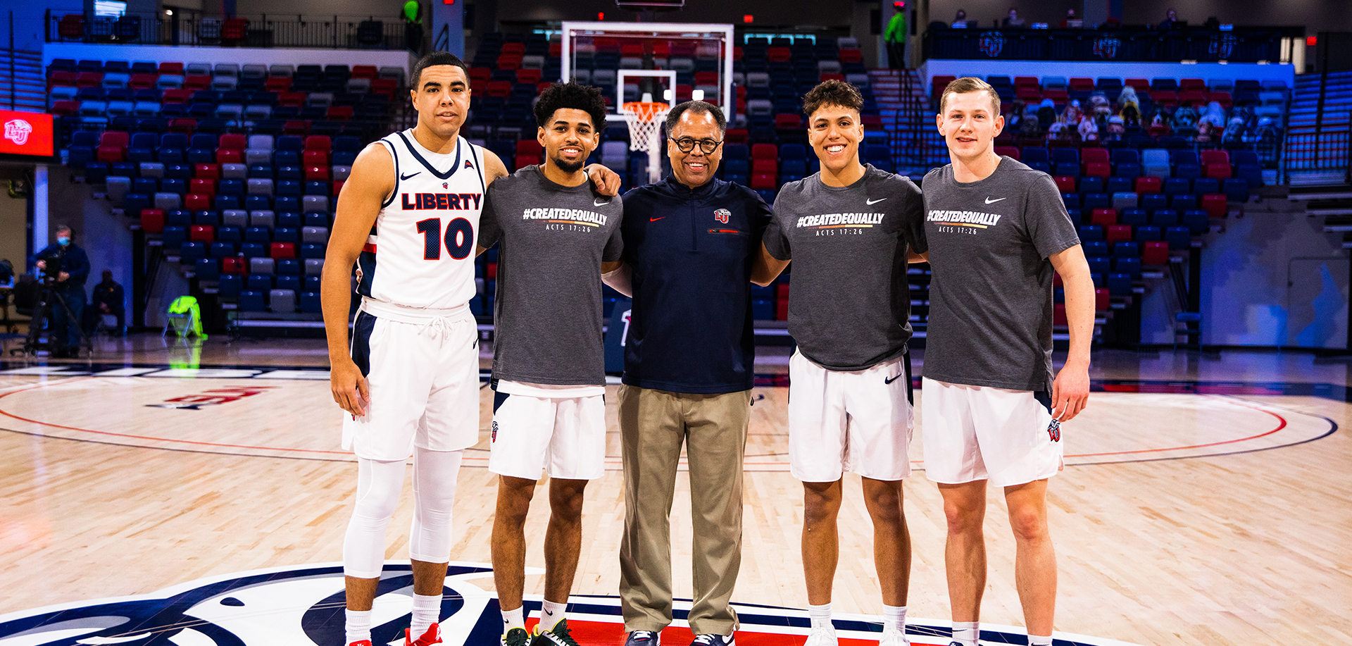 Liberty Defeats North Alabama on Senior Day